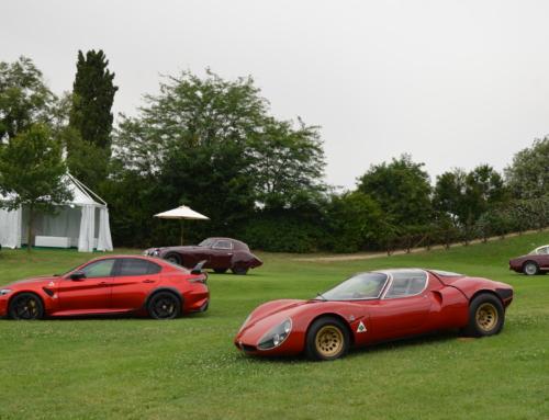 Alfa Romeo di ieri e di oggi al REB Concours di Roma