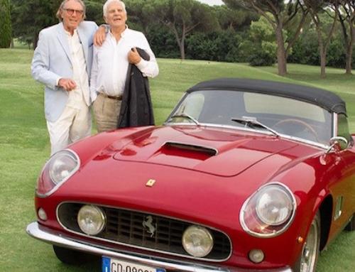 The Reb Concours: La Ferrari 250 GT California Del 1960 Si Aggiudica Il Titolo ·